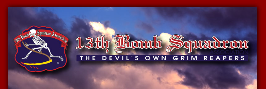 13th Bomb Squadron- The Devil's Own Grim Reapers
